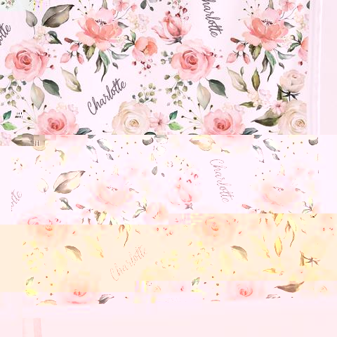 rose print for baby